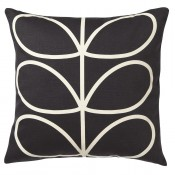 Orla Kiely 'Linear Stem' Cushion - Slate Blue